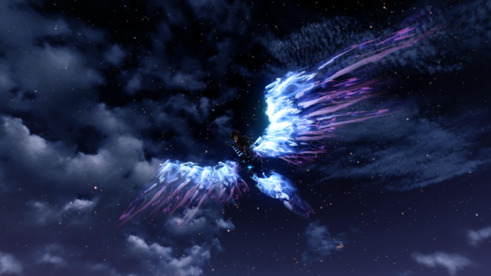 Глайдер «Черный феникс»
