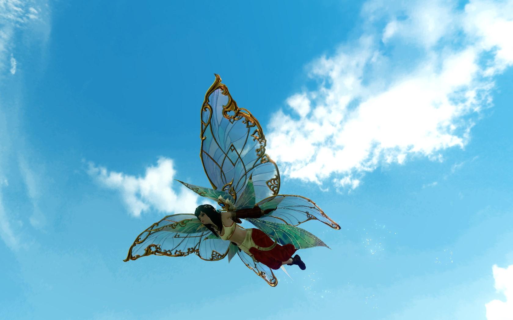 «Крылья сказочного народца»