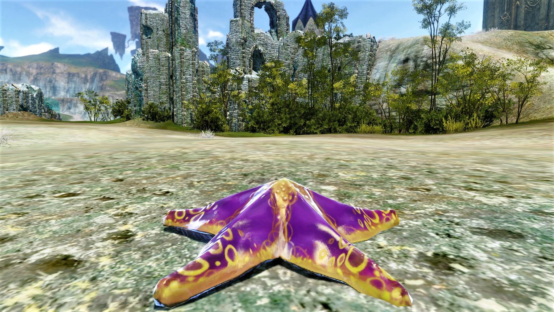 Пурпурная морская звезда