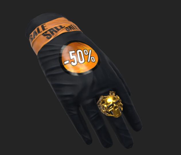 Sales Rep Gloves