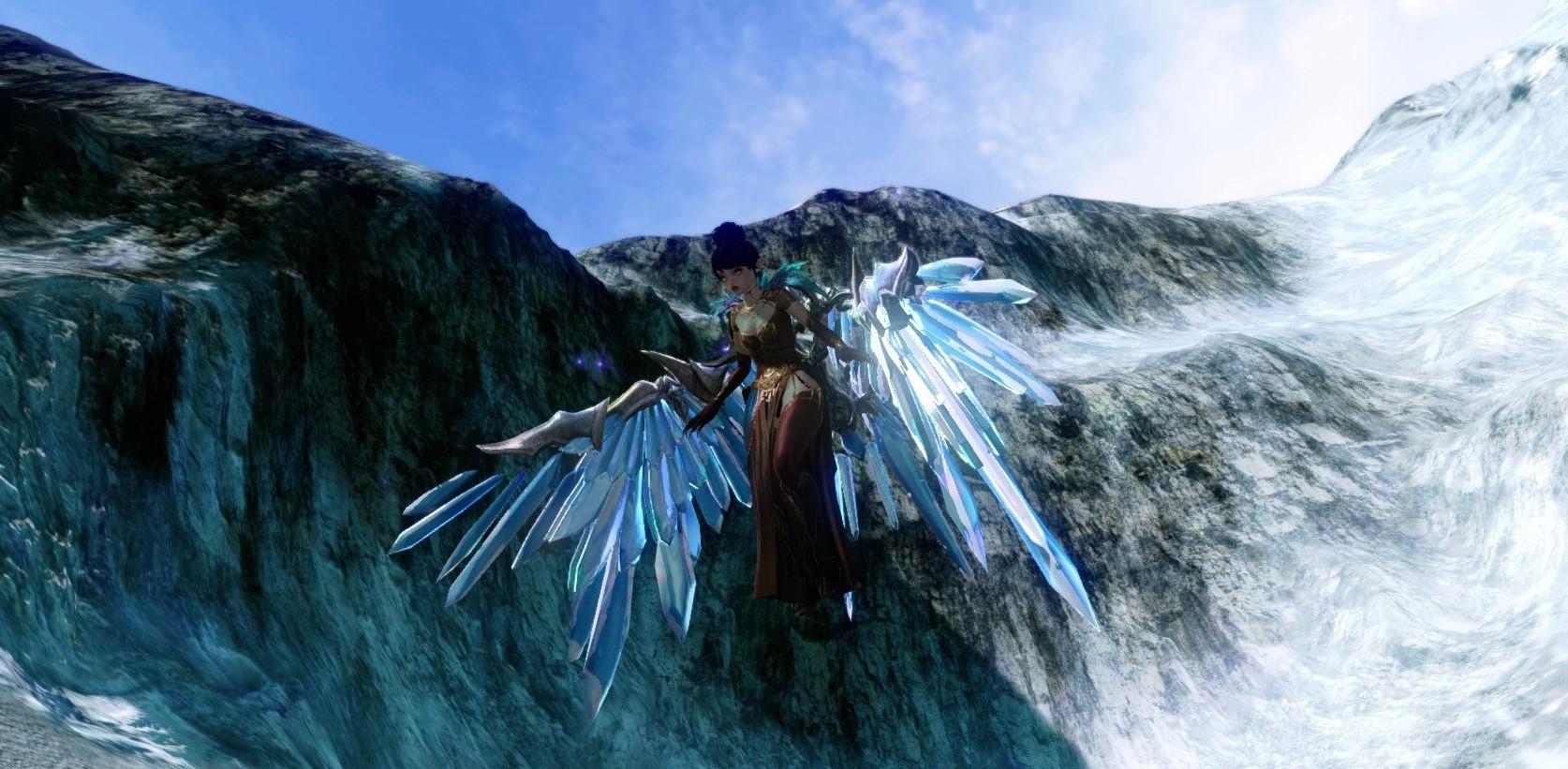 Кристаллические крылья