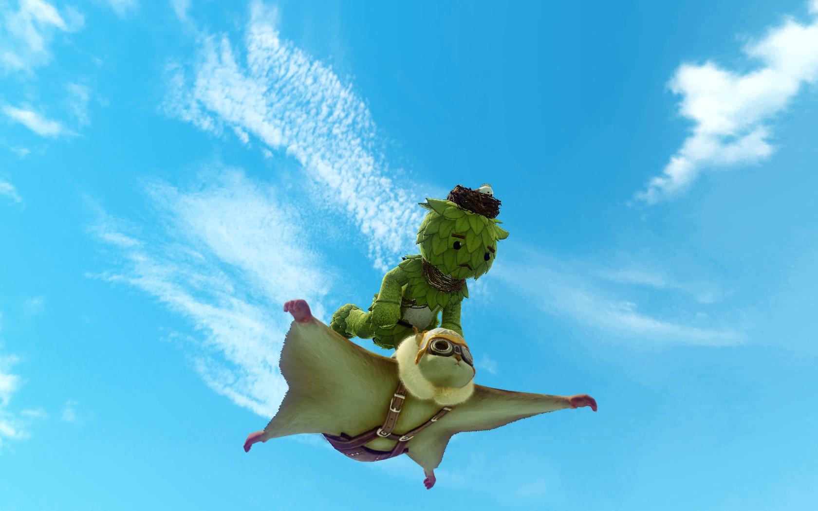 Глайдер «Белка-летяга»