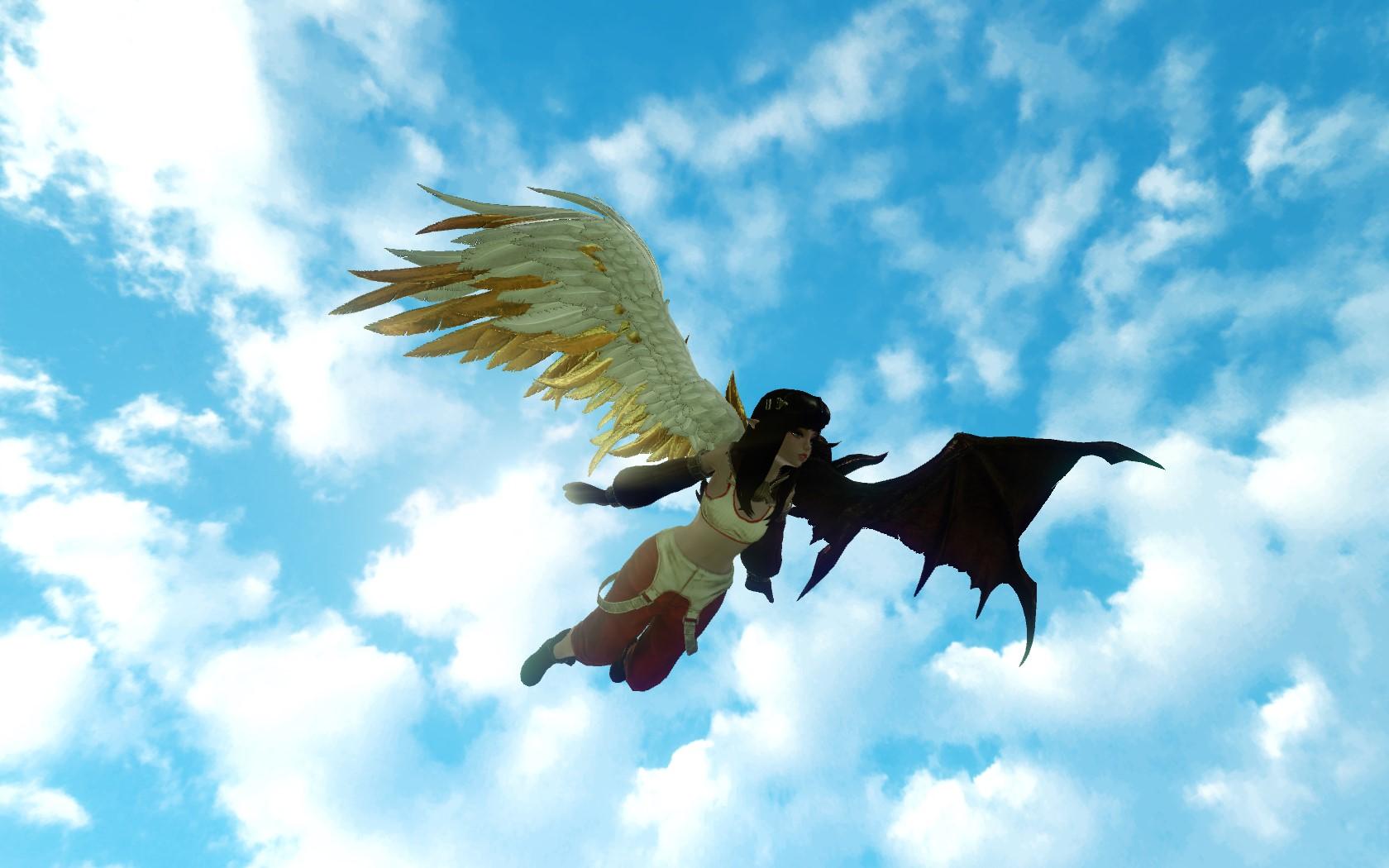 Глайдер «Крылья заклинателя смерти»