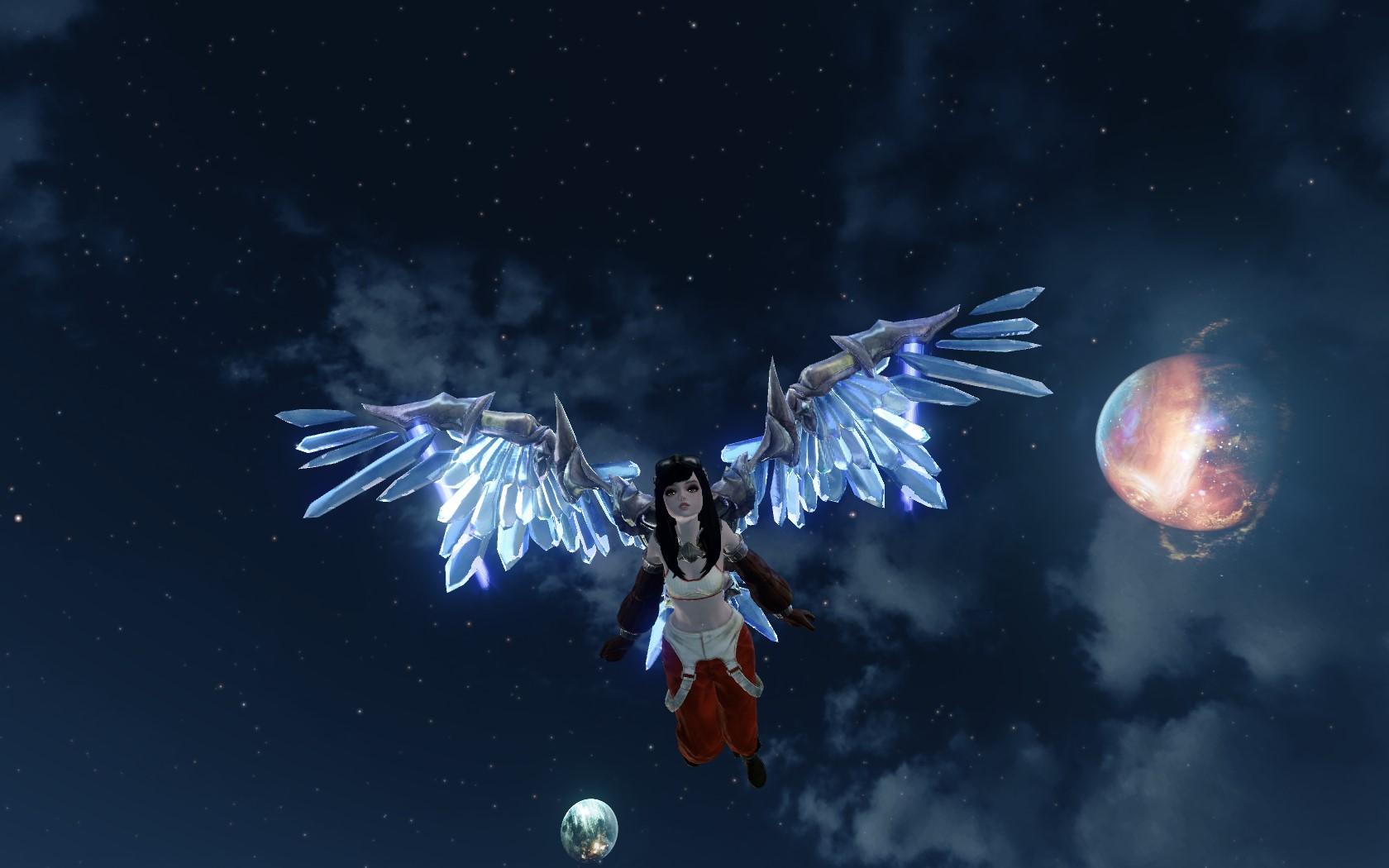 «Кристаллические крылья»