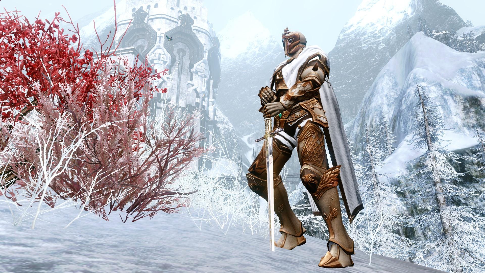 Костюм легионера Иферии на мужском персонаже