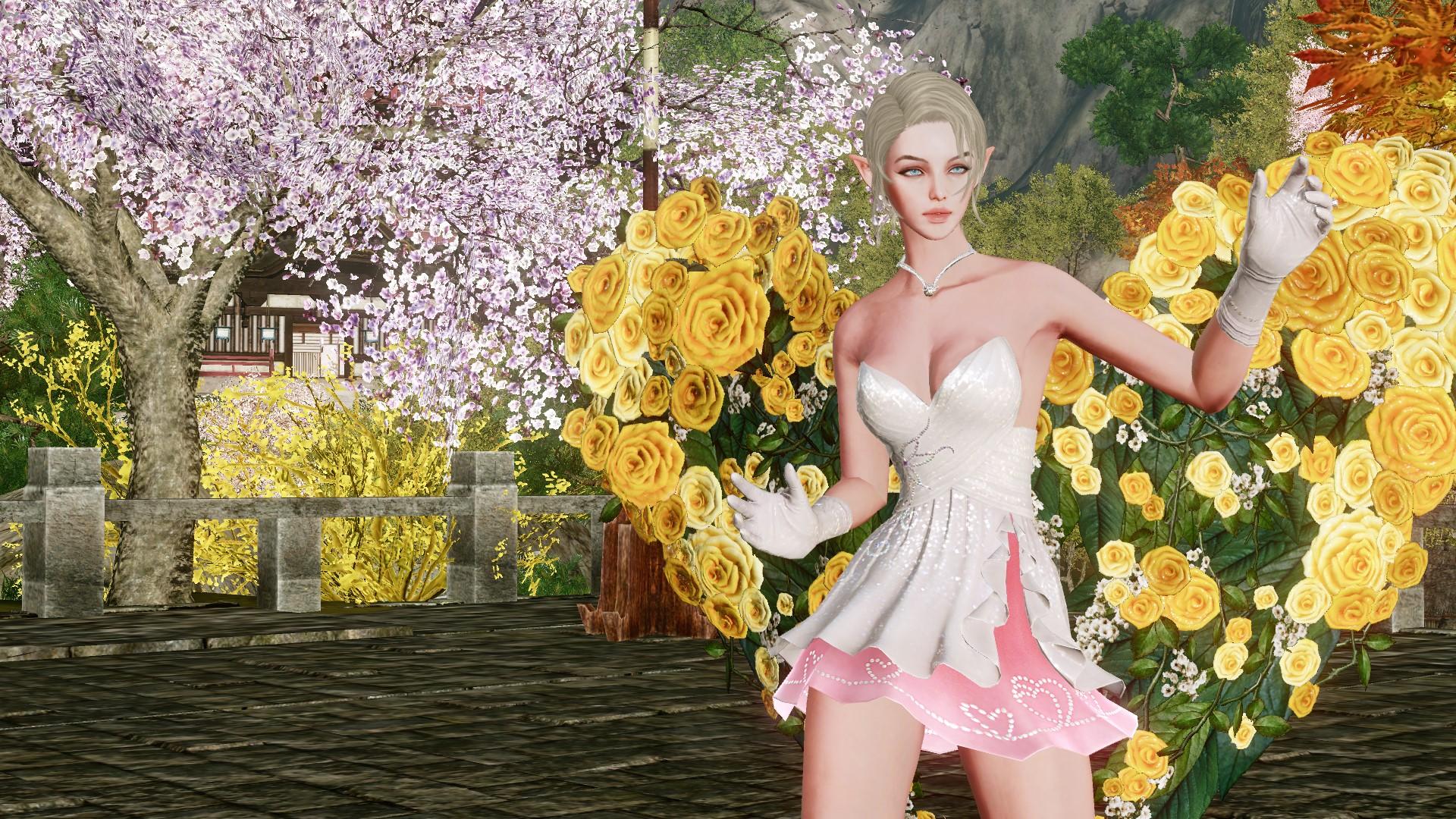 Глайдер-крылья «Желтые розы»