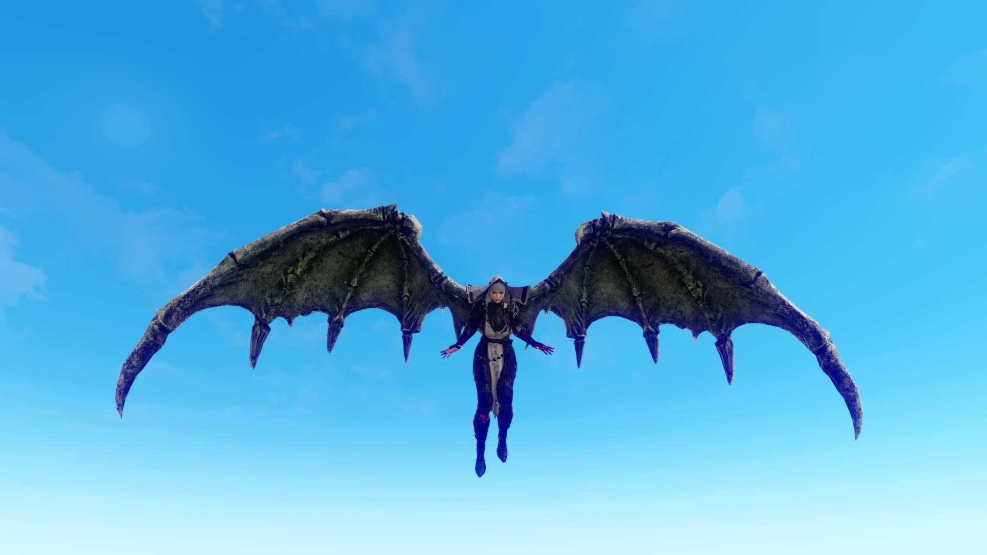 Глайдер «Крылья горгульи»